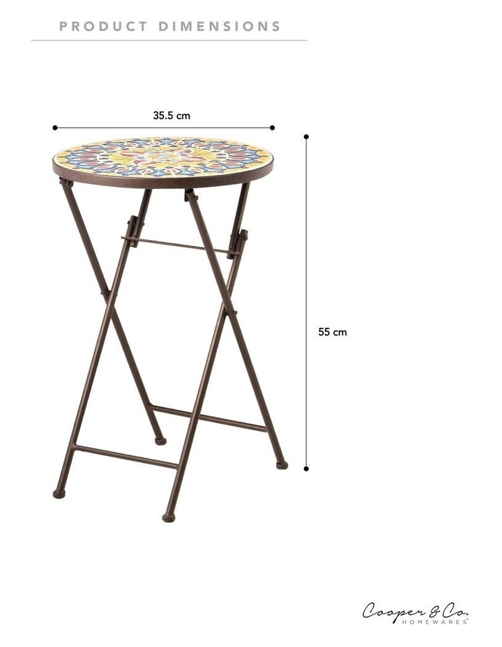 Cooper & Co. Moroccan Mosaic Accent Table image 6