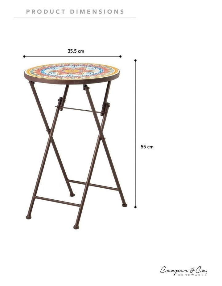 Cooper & Co. Imperial Mosaic Accent Table image 6