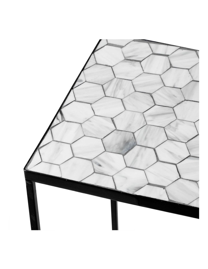 Honeycomb Set Of 3 Mosaic Planter Stand image 3