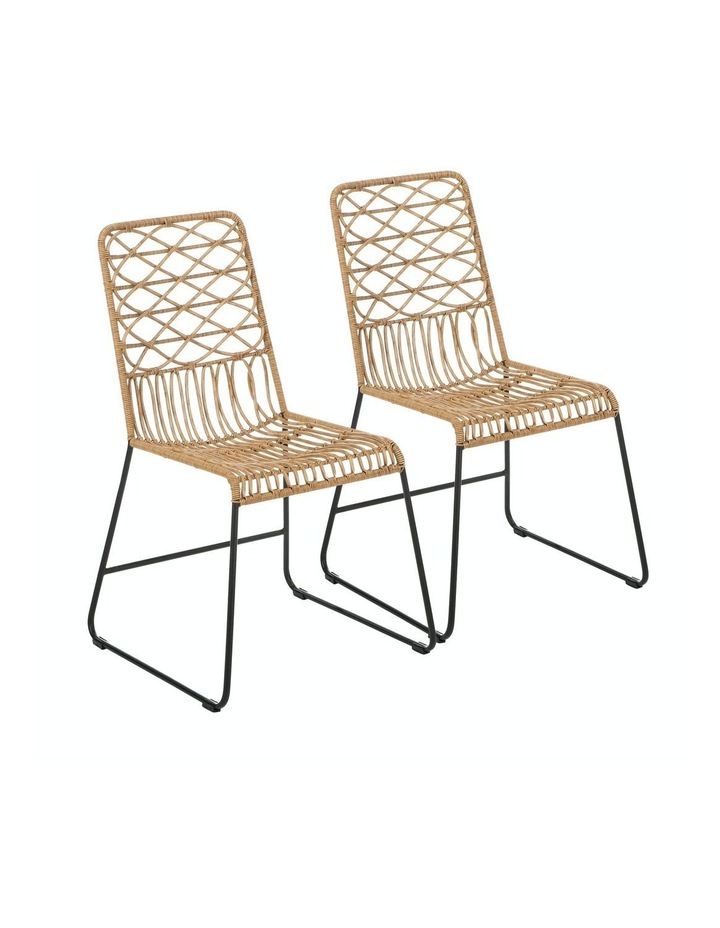 Lydia Dining Chair Set Of 2 Natural image 1