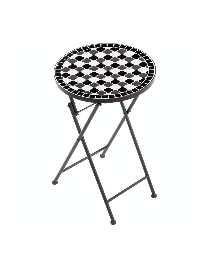 Mosaic Ace Accent Table Black image 1