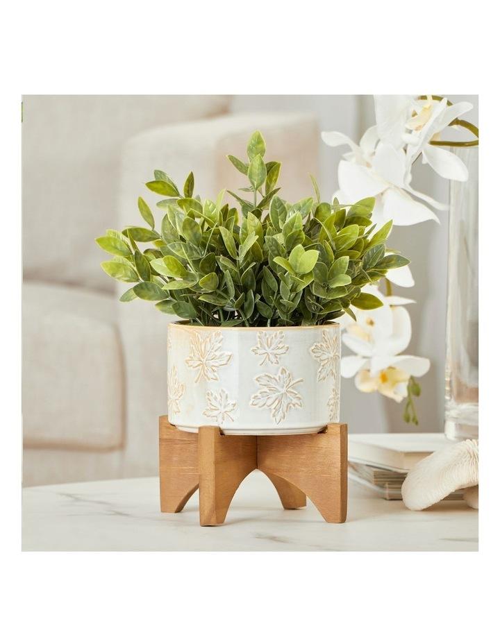 Artificial Greenery In Ceramic Pot 30cm image 2