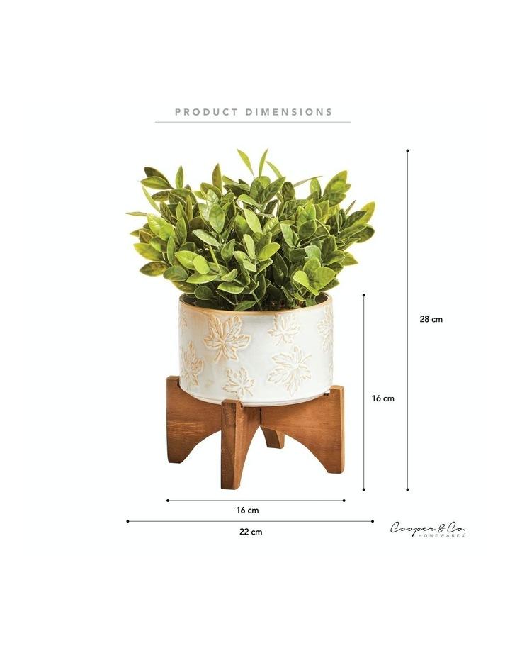 Artificial Greenery In Ceramic Pot 30cm image 3