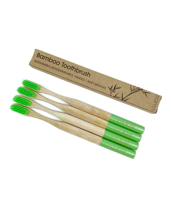 Bamboo Toothbrushes image 1