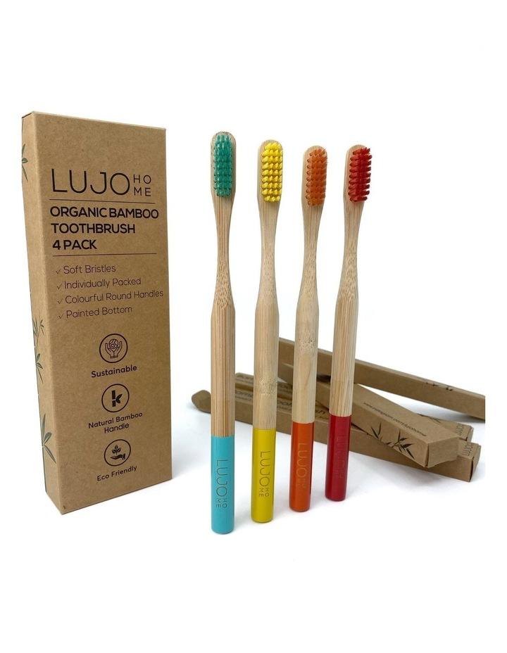 Bamboo Toothbrush (4 Pack) image 1