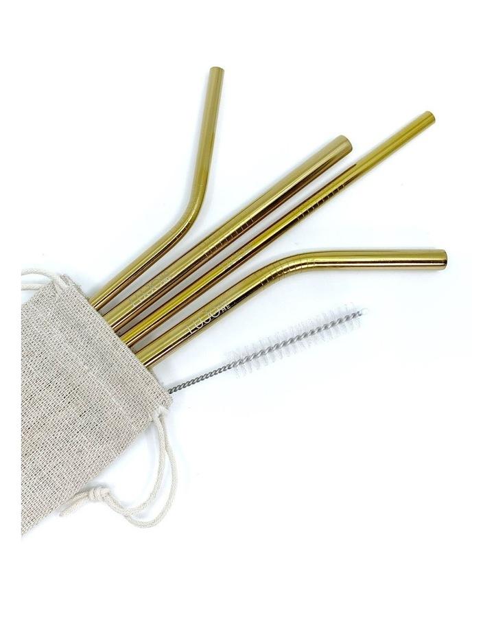 Metal straws mixed set image 4