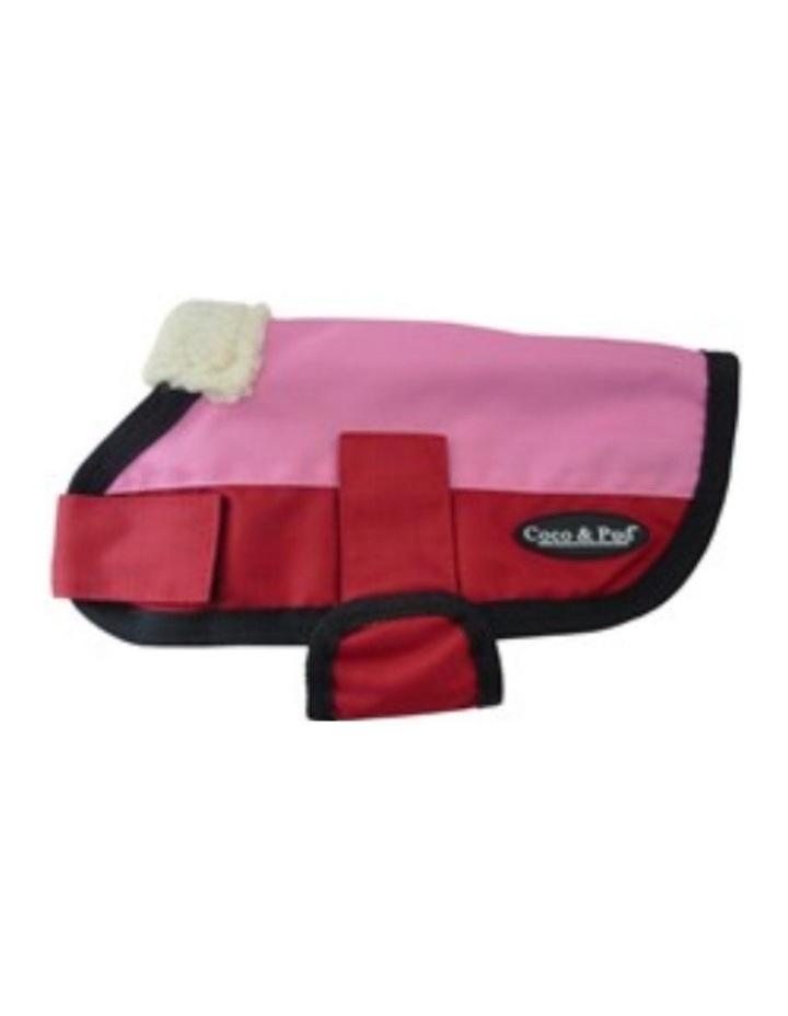 Waterproof Dog Coat 3009 MEDIUM - Teal & Chocolate image 5