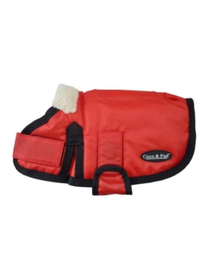 Waterproof Dog Coat 3008 - Red LARGE image 1