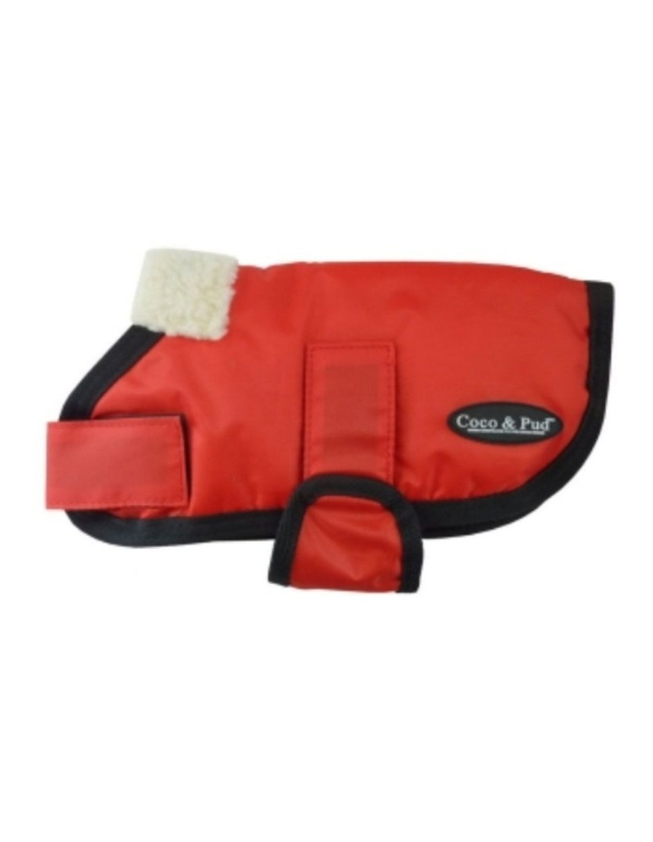 Waterproof Dog Coat 3008 - Red LARGE image 2