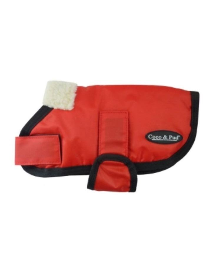 Waterproof Dog Coat 3008 - Red XL image 2