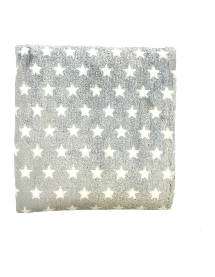Hamptons Minky Blanket - Grey image 1