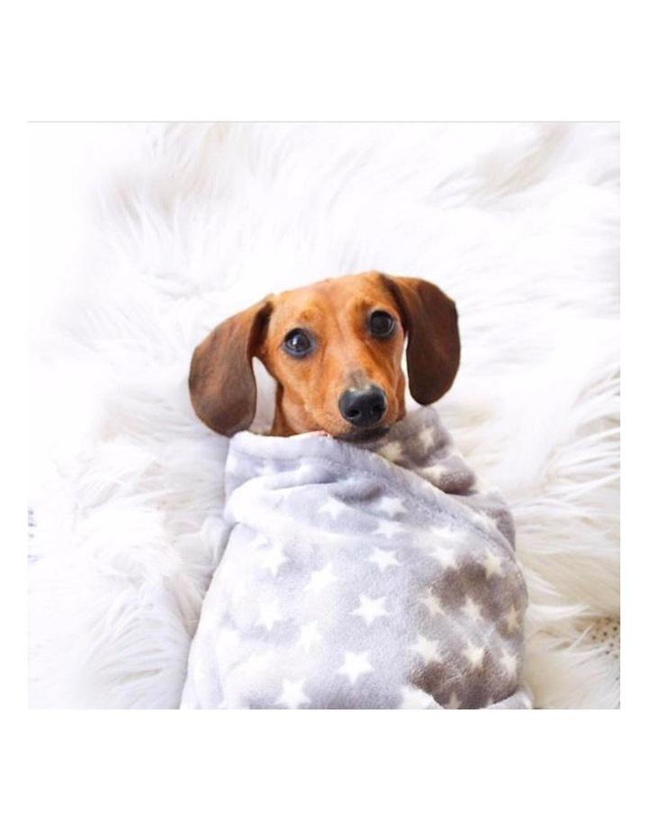 Hamptons Minky Blanket - Grey image 3