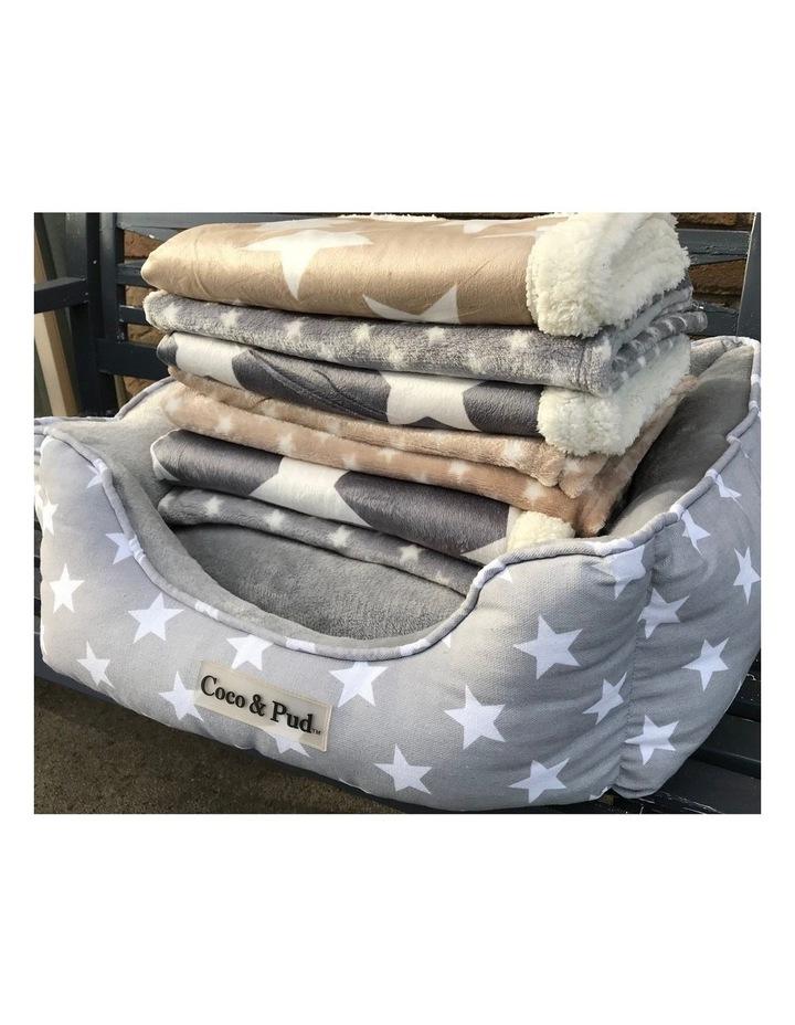 Hamptons Minky Blanket - Grey image 6