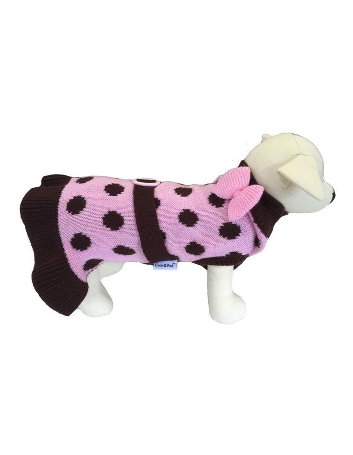 Sassy Girl Dog Sweater LARGE image 1