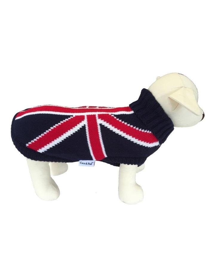 Union Jack Dog Sweater MEDIUM image 1