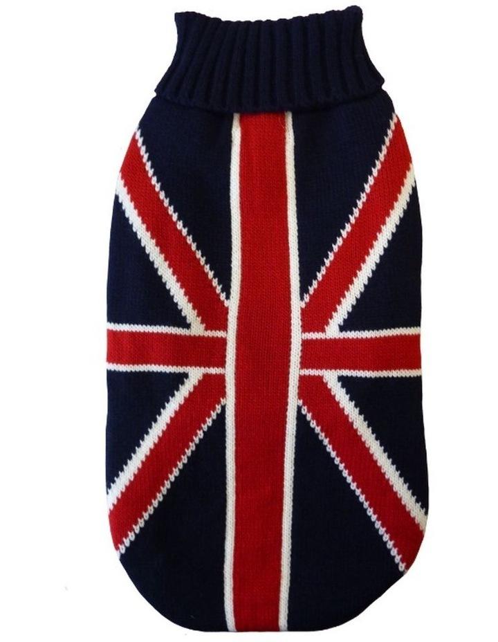 Union Jack Dog Sweater MEDIUM image 2