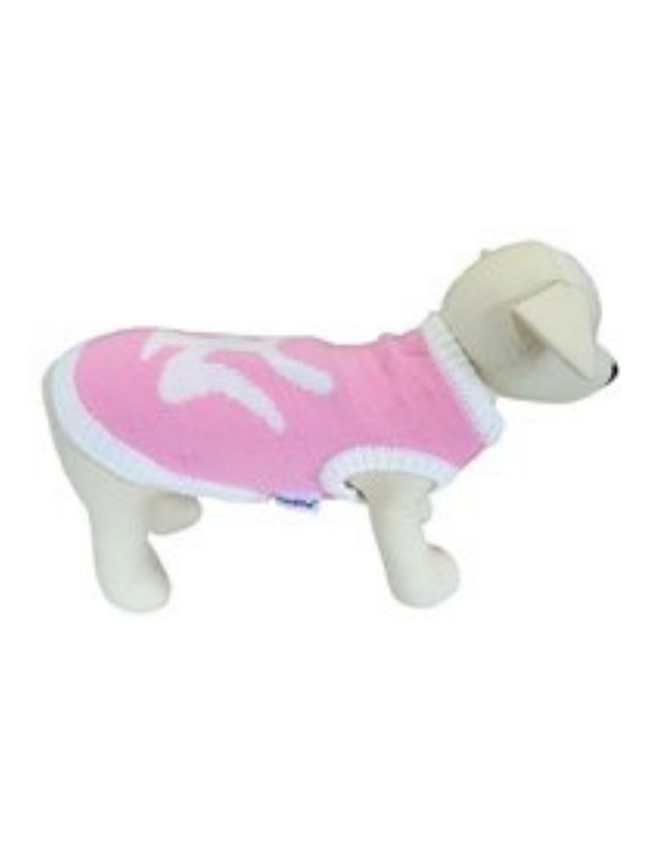 New York Dog Sweater - Pink SMALL image 1
