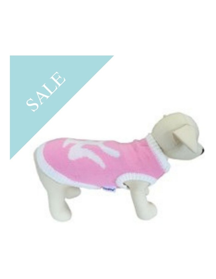 New York Dog Sweater - Pink SMALL image 2