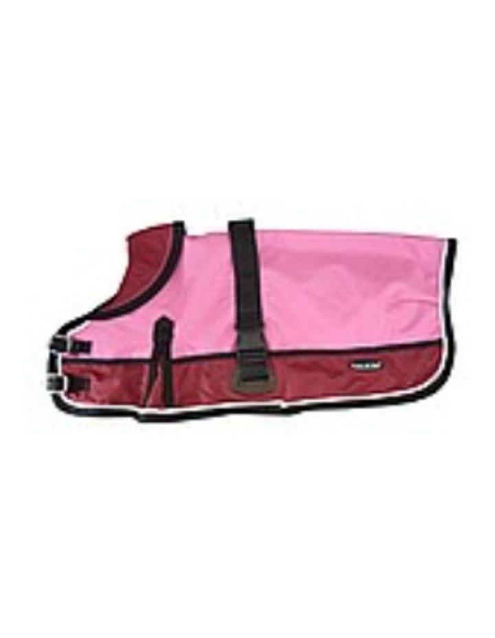 Waterproof Dog Coat 3022 - Red/ Pink LARGE image 3