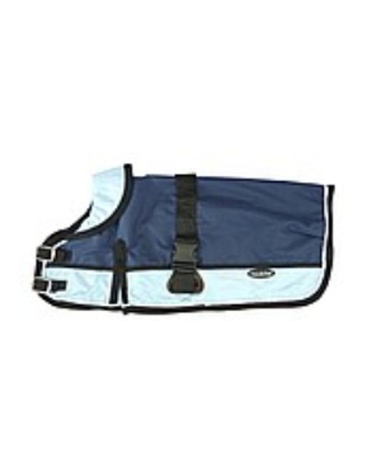 Waterproof Dog Coat 3022 - Light Blue/ Navy image 3