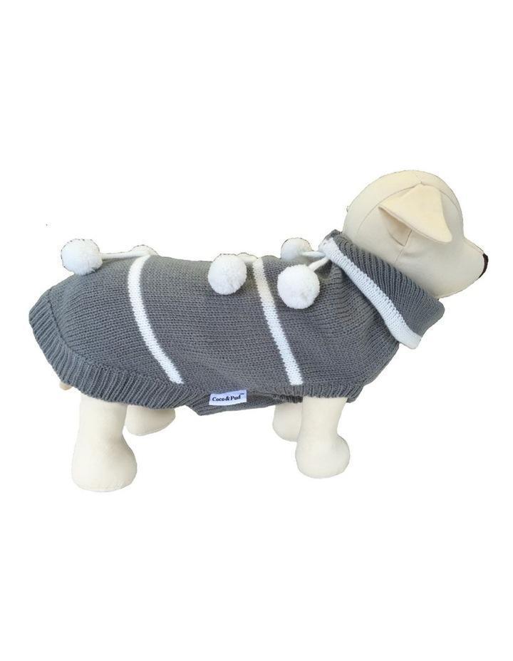 Pom Pom Dog Sweater MEDIUM image 1