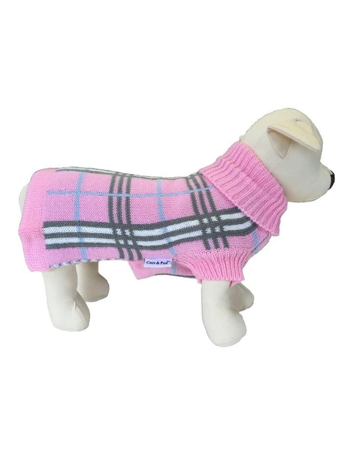 Knightsbridge Dog Sweater - Pink MEDIUM image 1