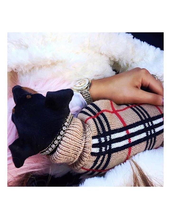 Knightsbridge Dog Sweater - Beige image 5