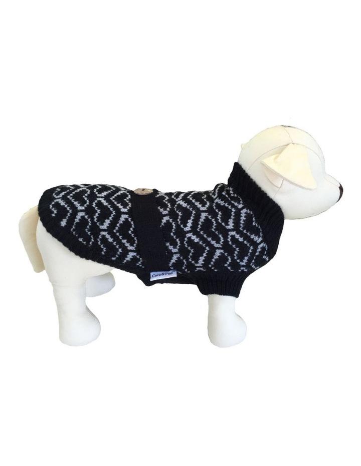 Heart Dog Sweater - Medium image 1