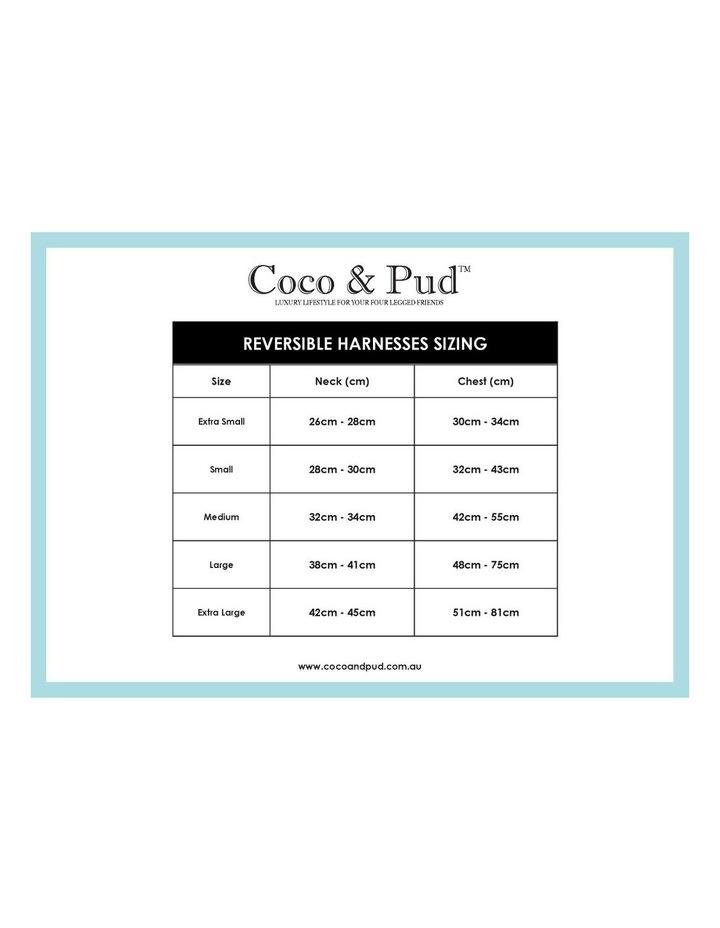 Coco & Pud Audrey Dog Harness MEDIUM image 4
