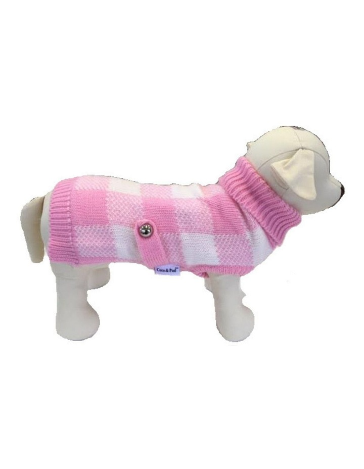 Boston Dog Sweater - Pink image 1