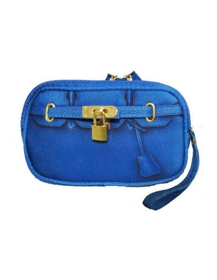 Scarlet Poop Bag Wristlet - Cobalt image 1