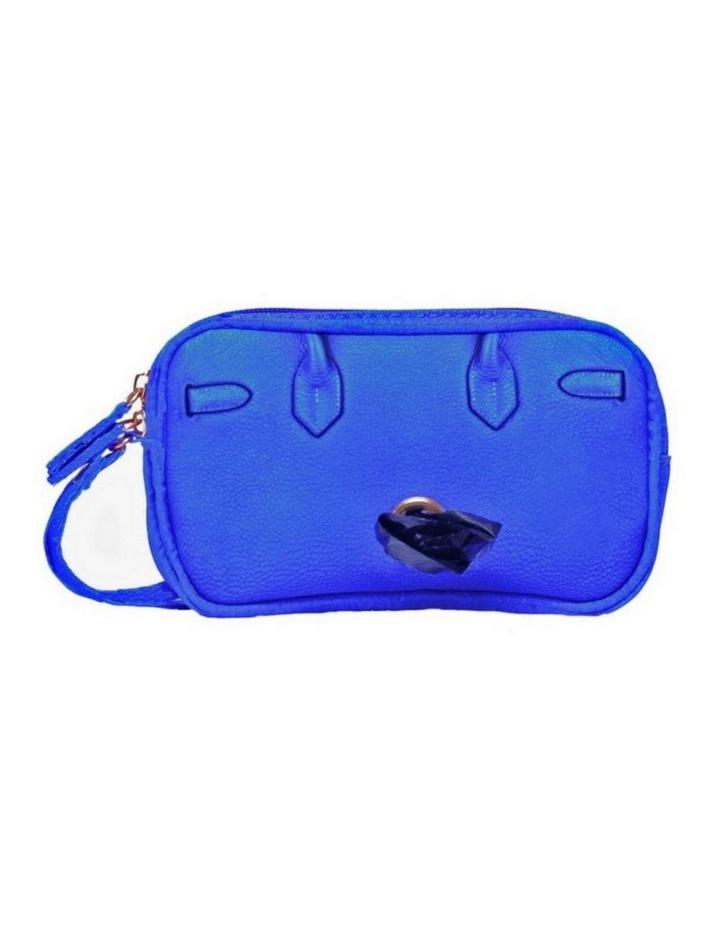 Scarlet Poop Bag Wristlet - Cobalt image 3