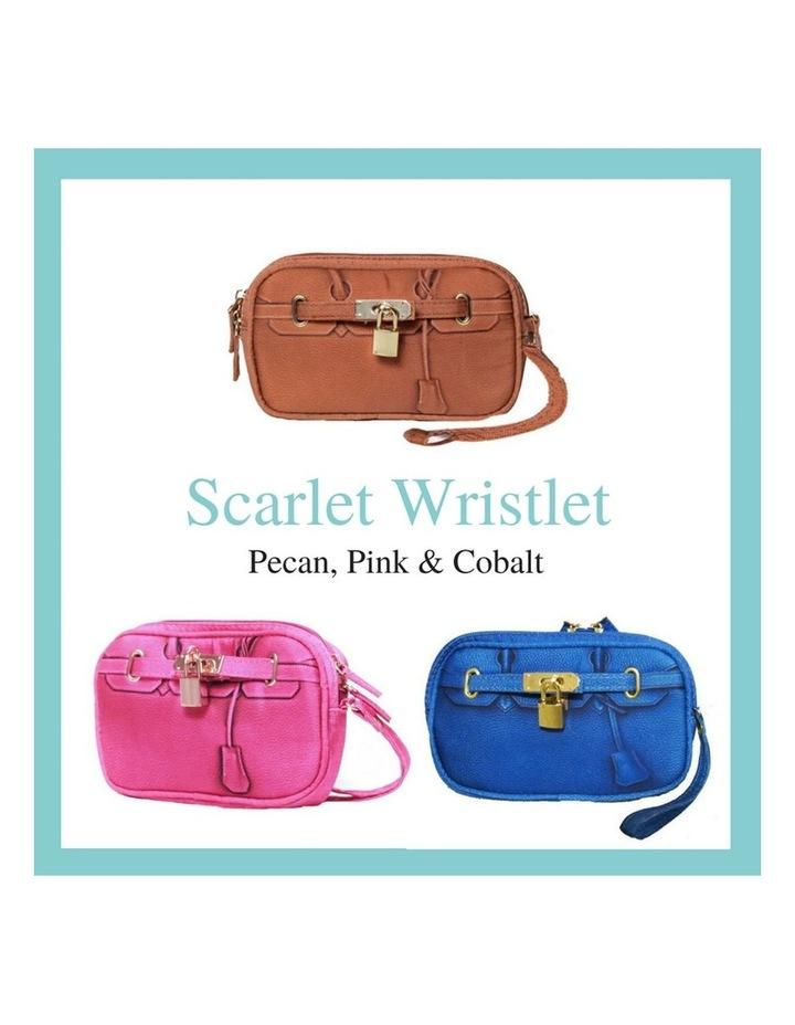 Scarlet Poop Bag Wristlet - Cobalt image 5