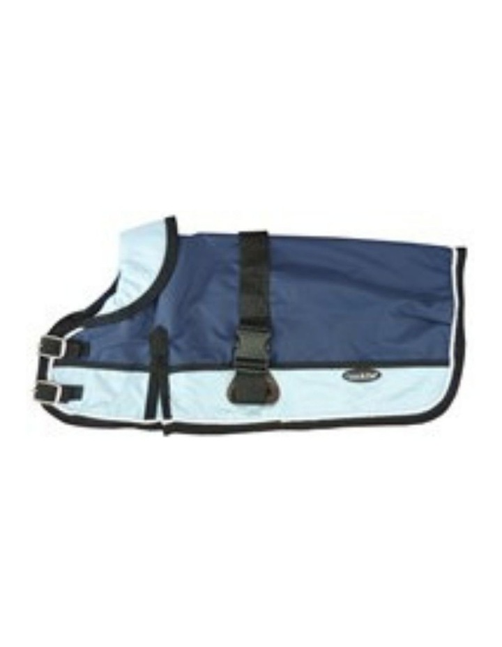 Waterproof Dog Coat 3022-B Navy/ Light Blue (For Big Dogs) image 1
