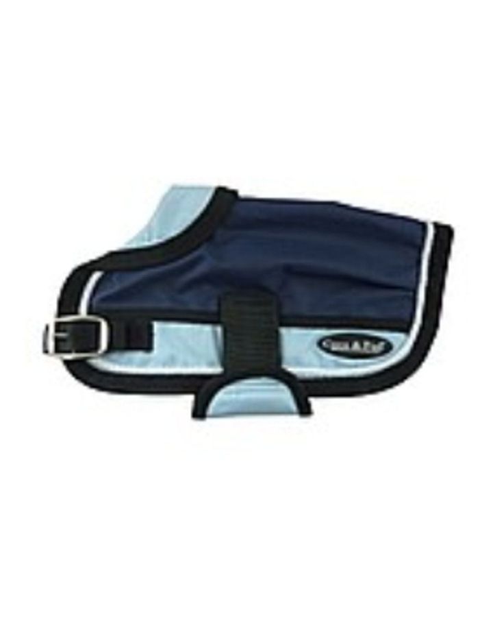 Waterproof Dog Coat 3022-B Navy/ Light Blue (For Big Dogs) image 2