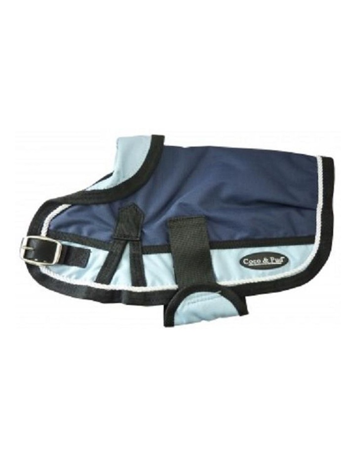 Waterproof Dog Coat 3022-B Navy/ Light Blue (For Big Dogs) image 3