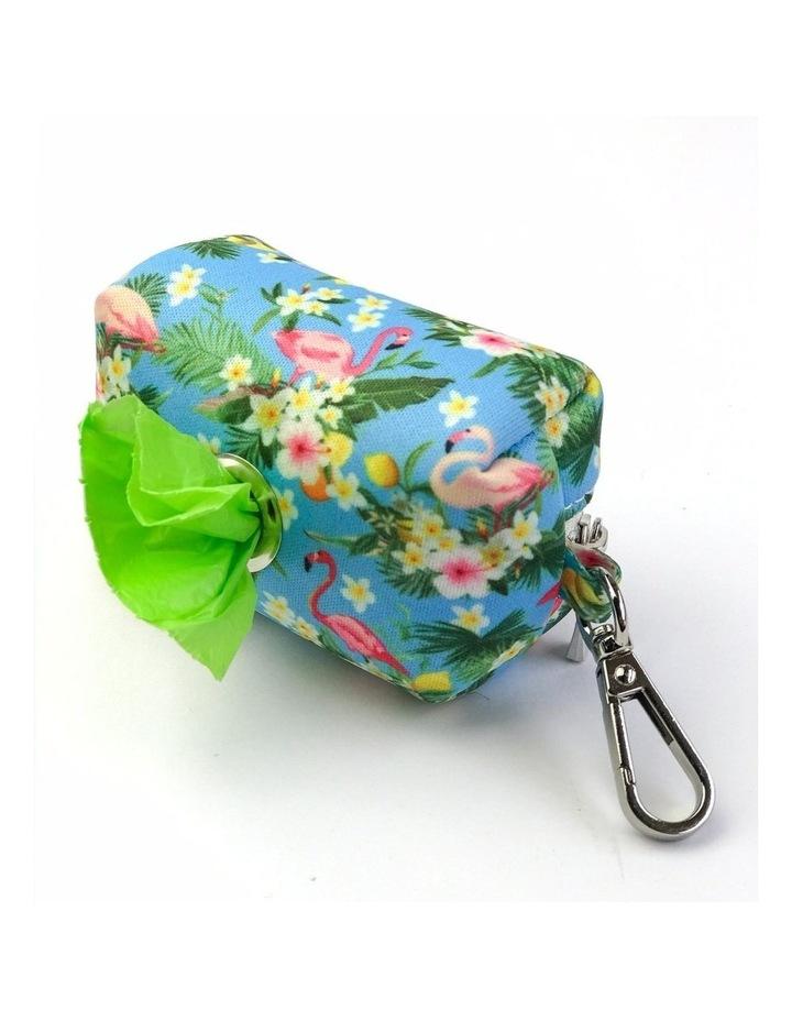 Coco & Pud Flamingo Tropical Waste Bag Holder image 1