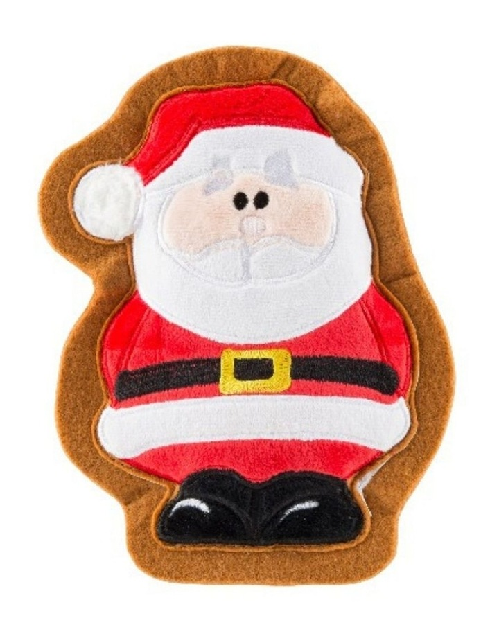Wagnolia Bakery Christmas Santa Claus Cookie Dog Toy image 1