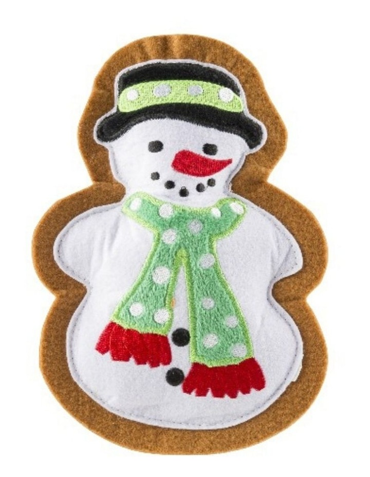 Wagnolia Bakery Christmas Snowman Cookie Dog Toy image 1