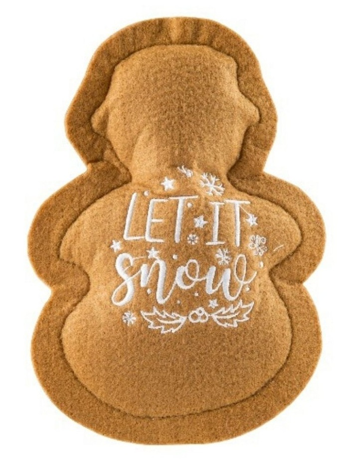 Wagnolia Bakery Christmas Snowman Cookie Dog Toy image 2