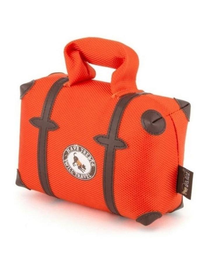 Globetrotter Pack & Snack Suitcase Dog Toy image 1
