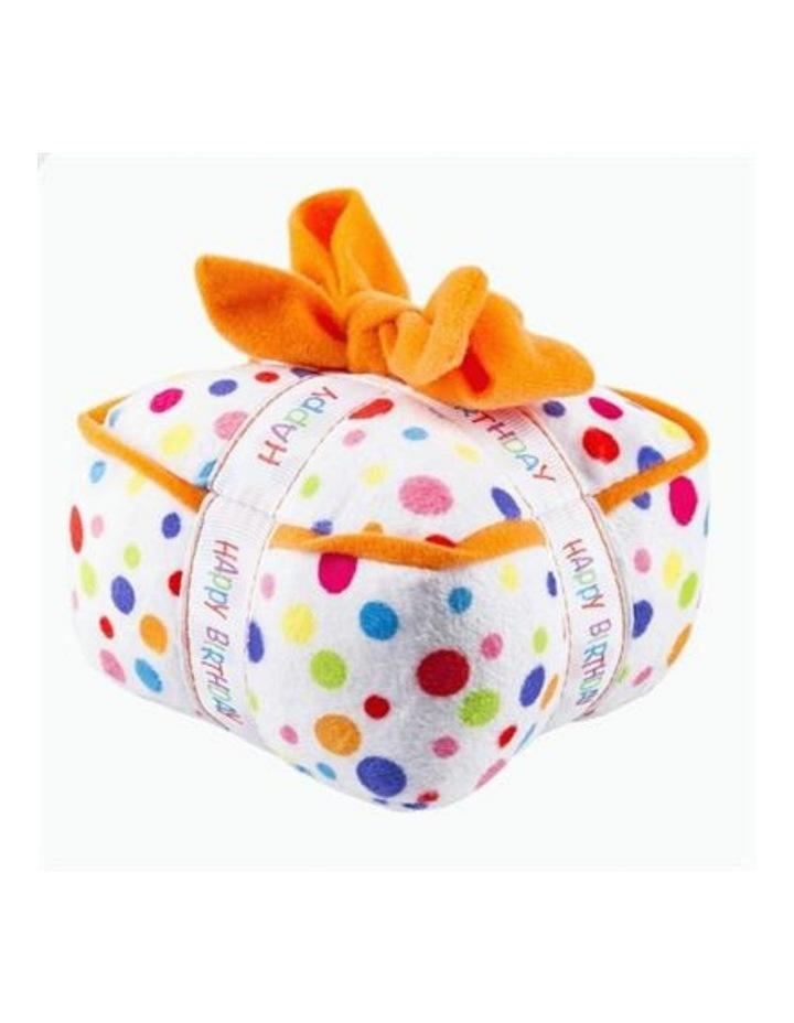 Happy Birthday Gift Box Dog Toy image 1