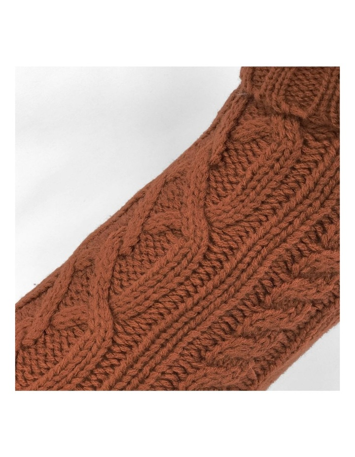 Cable Dog Sweater - Sienna image 3