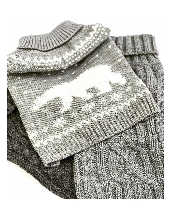 Arctic Pup Dog Sweater image 3