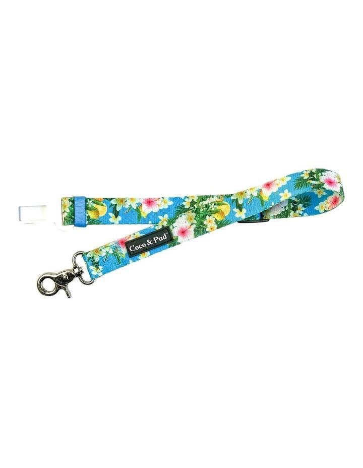 Coco & Pud Flamingo Tropical Dog Car Seat Belt Restraint image 1