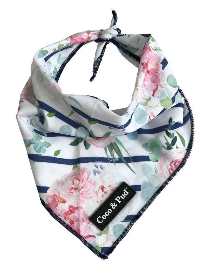 Coco & Pud Floral Blooms Cotton Cat Bandana image 1