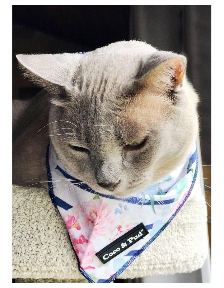 Coco & Pud Floral Blooms Cotton Cat Bandana image 3