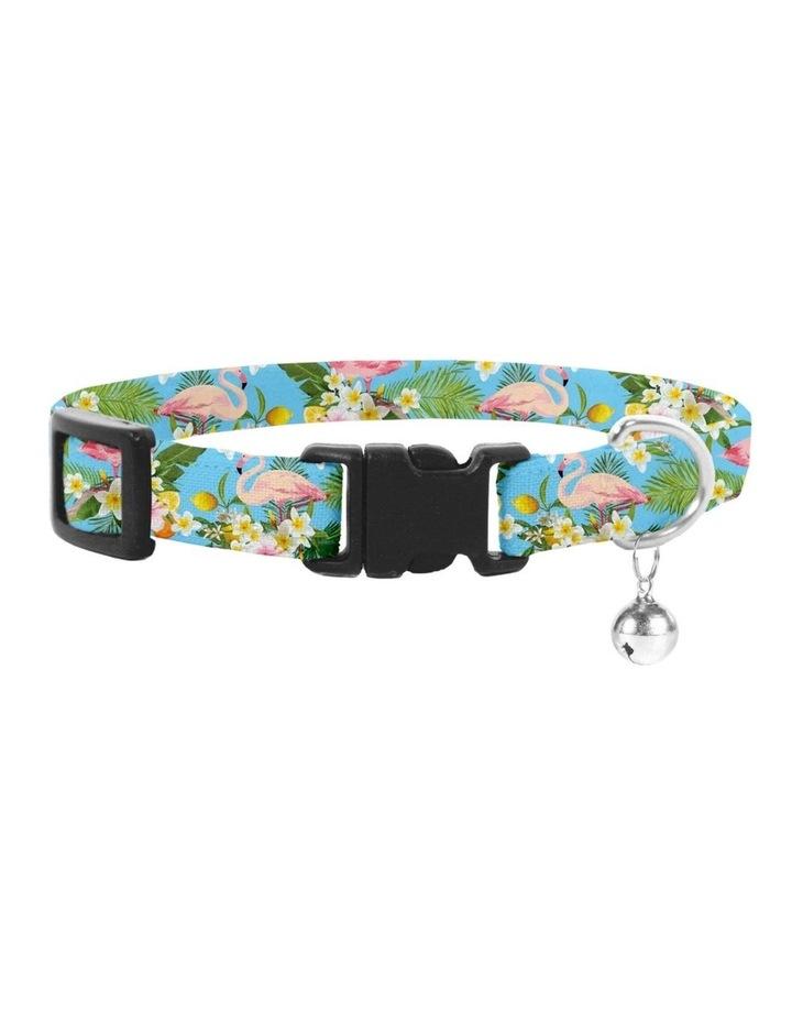 Flamingo Tropical Cat Safety Collar image 1