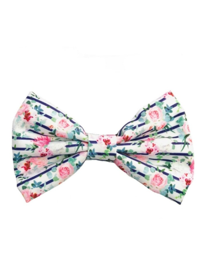 Floral Blooms Cat Bow tie image 1