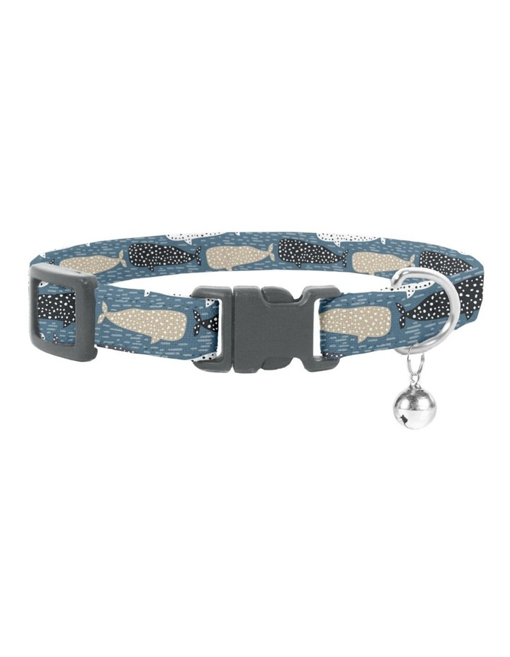 Whale of a Time Cat Safety Collar image 1